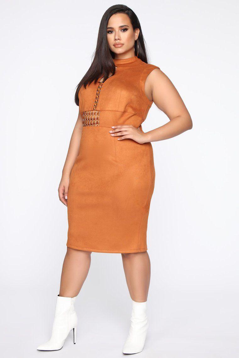 Told You So Midi Dress Tan In 2020 Midi Dress Faux Suede Dress Suede Dress [ 1140 x 760 Pixel ]