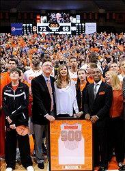Syracuse Orange Head Coach Jim Boeheim Honored In