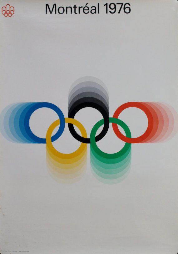 Original poster 1976  Montreal Olympics