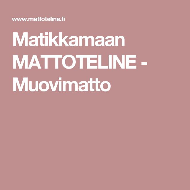 Matikkamaan MATTOTELINE - Muovimatto
