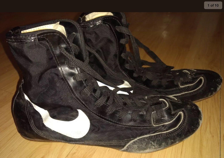 929259bb0fc6 Vintage Chuck Taylor Black Canvas Wrestling Shoes