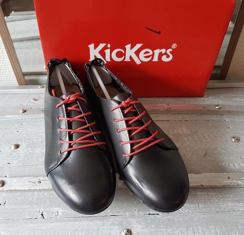 38 Kickers Femme Chaussures Cuir Ohxqaw0unw Pinterest Libero Les Noir bgf7Y6y