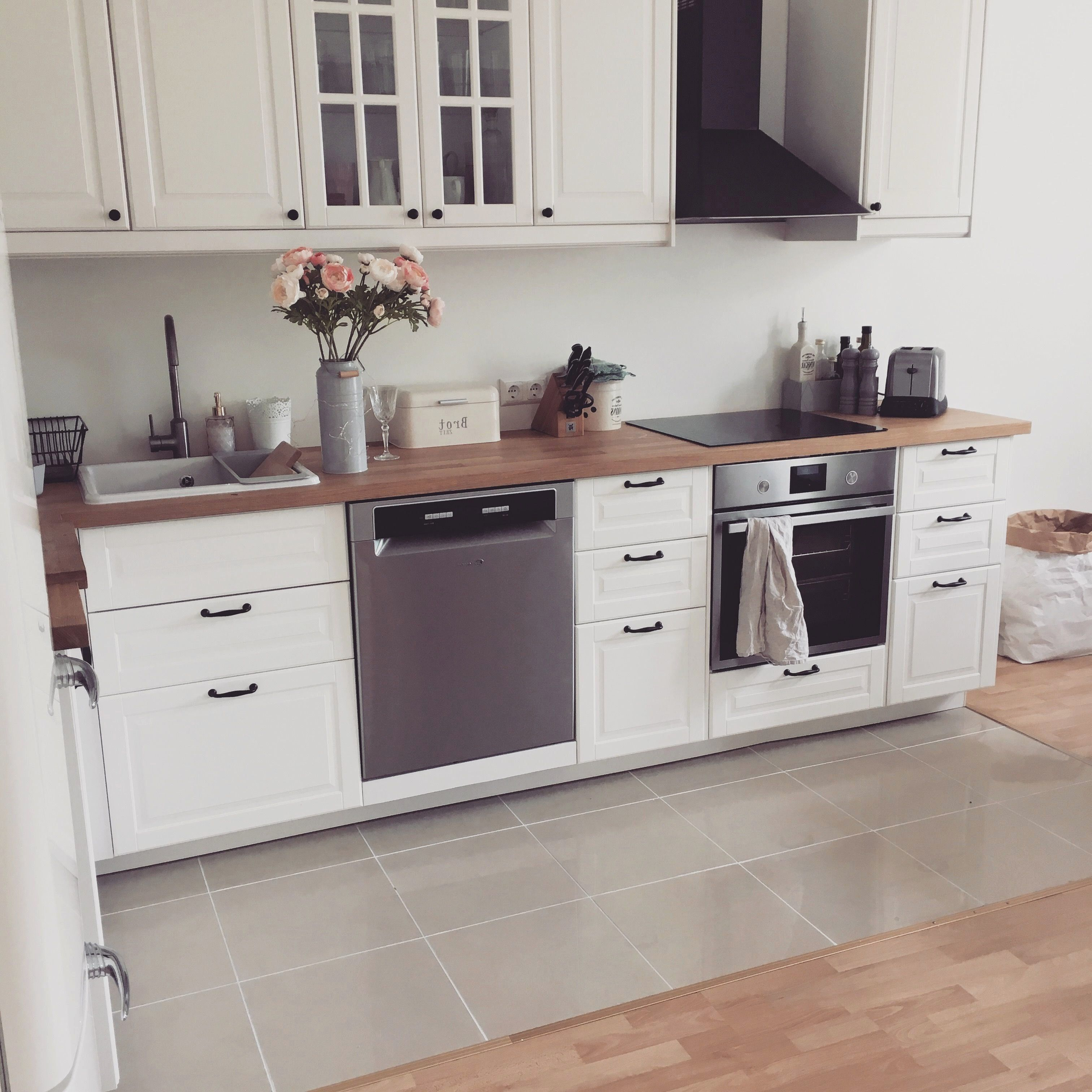 Granit Arbeitsplatte Ikea Schon 31 Fresh Ikea Veddinge White Kitchen Cartilagemdetubarao Wohnung Kuche Kuche Schwarz Kuchen Design