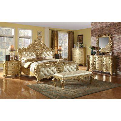 Stanley Tilden Panel Customizable Bedroom Set Kids bedroom sets