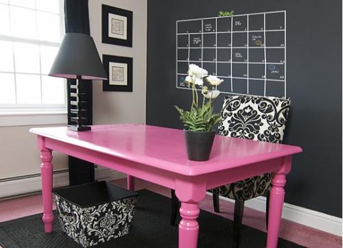pink + calendar= snazzy :)