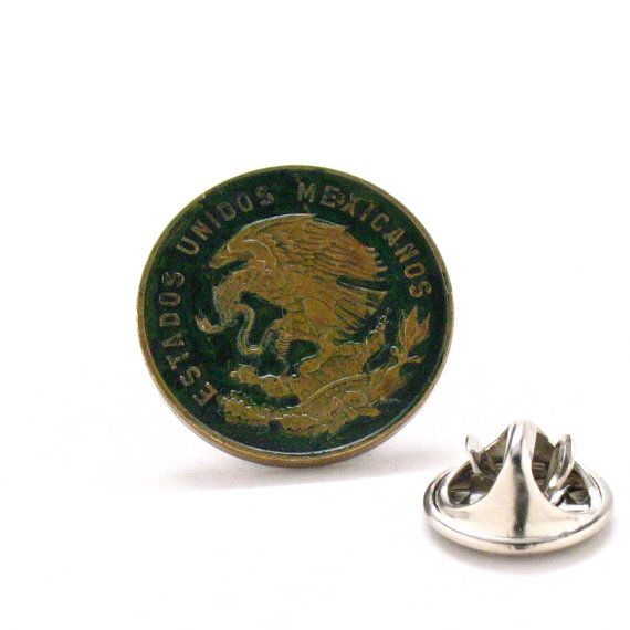 Russian Eagle Tie Tack Lapel Pin Suit Russia Travel Imperial Seal Crest Trade Coin