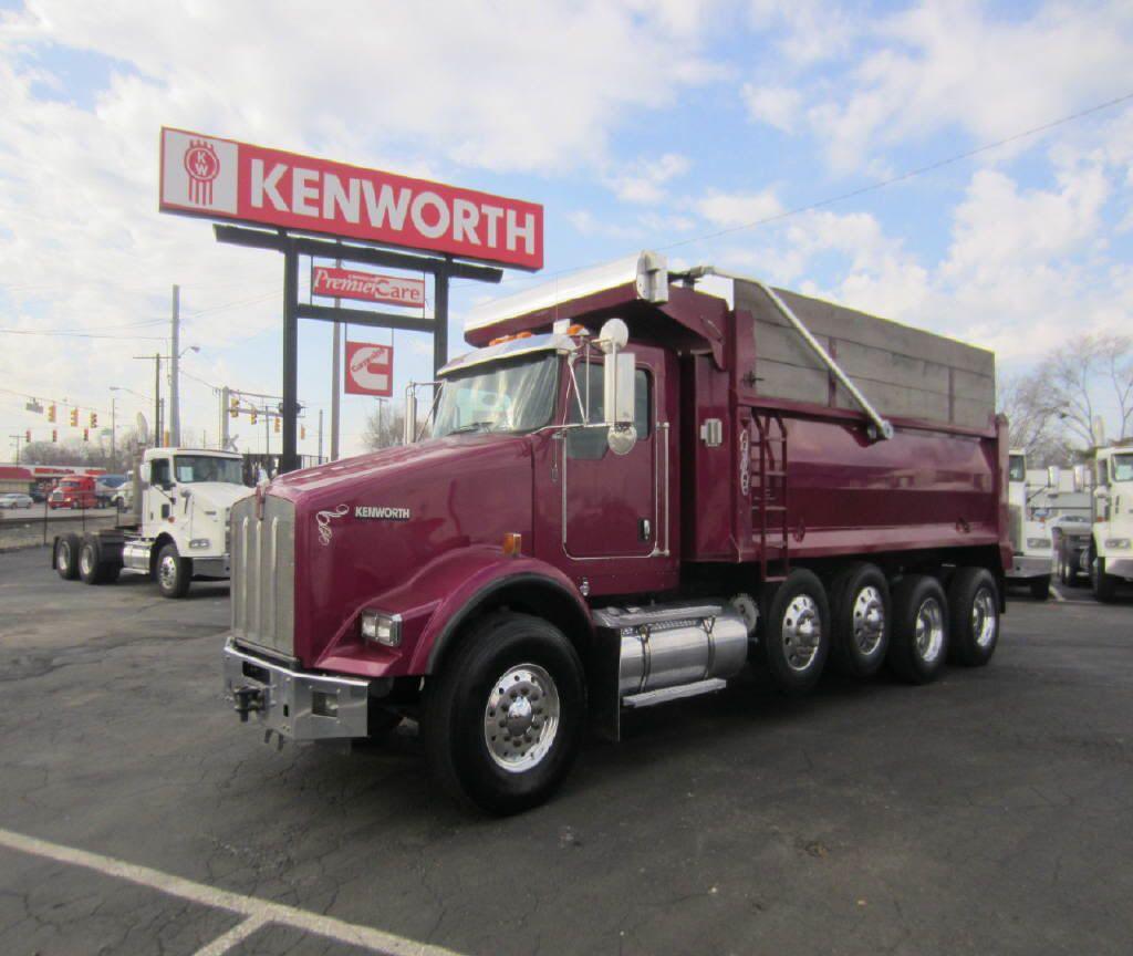 Dump trucks for sale 2011 kenworth dump truck t800 for sale