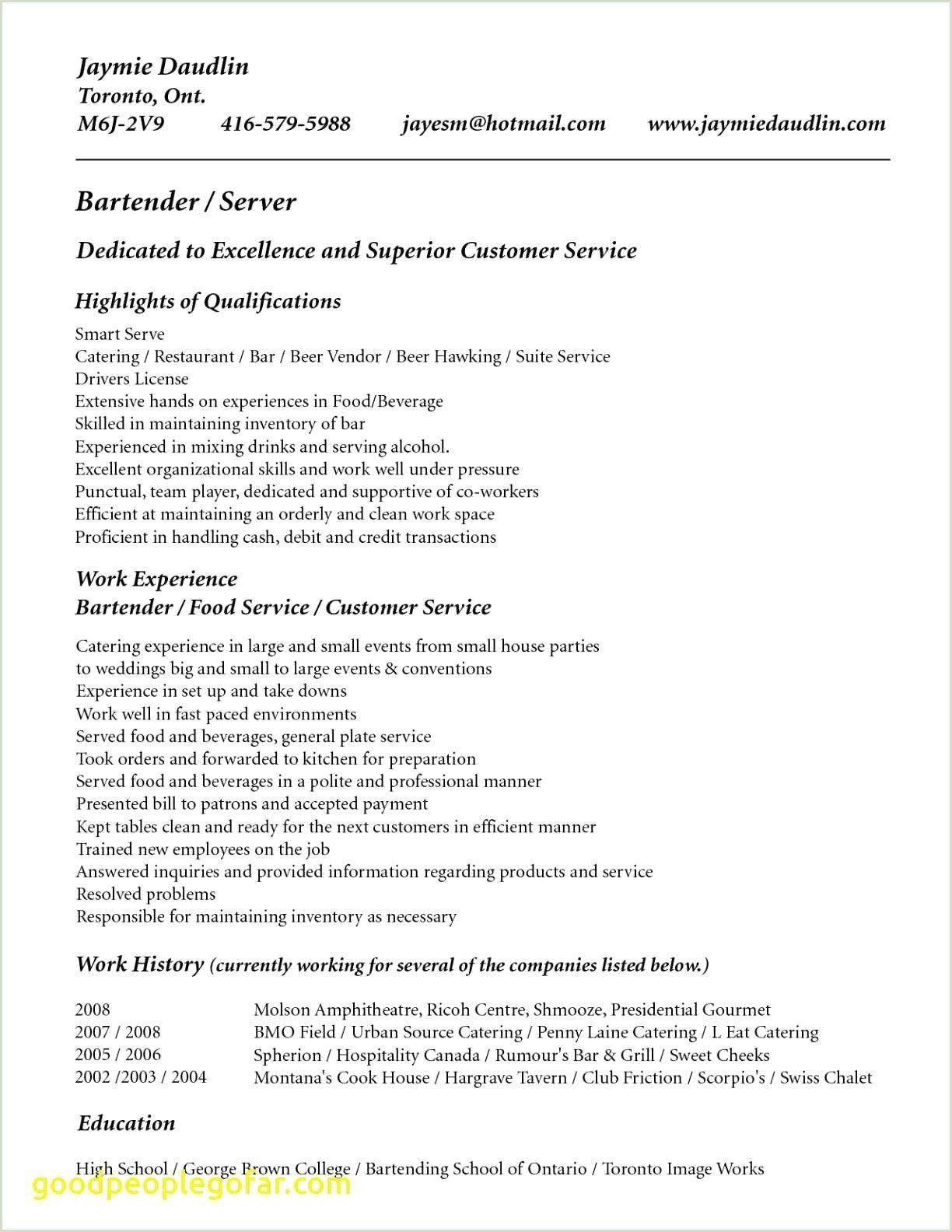 Waitress Resume Skills In 2020 Resume No Experience Job Resume Samples Resume Skills