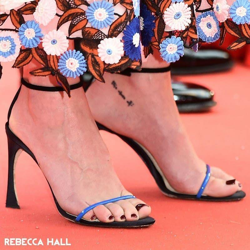 Rebecca Hall Feet