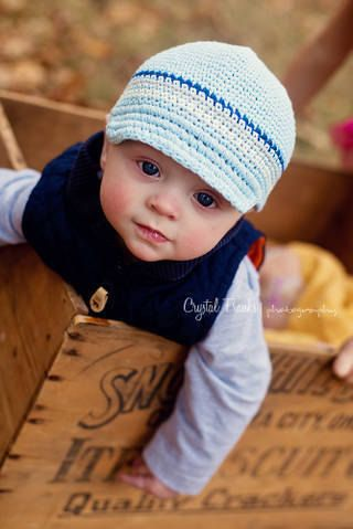 Crochet Baby Boy Hat Baby Boy Crochet Hat Newborn by LovelyKnits ...
