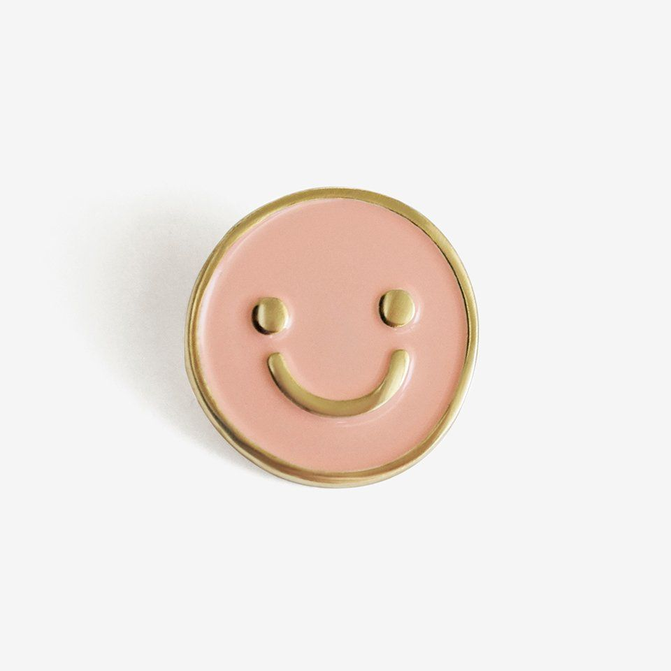 Happy Day Pin + Post | enamel pins | Jacket pins, Pin, patches