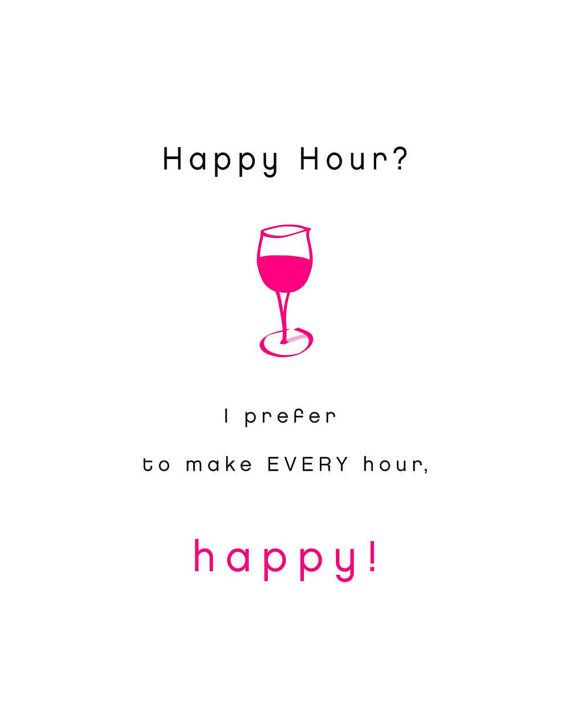 happy hour quotes