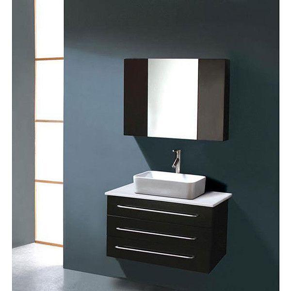 Virtu USA Ivy 32-inch Single Sink Bathroom Vanity Set ($1,002