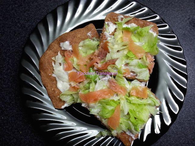 Foodie in Translation: La Rubrica del Lunedì: Pizza fredda con salmone, m...
