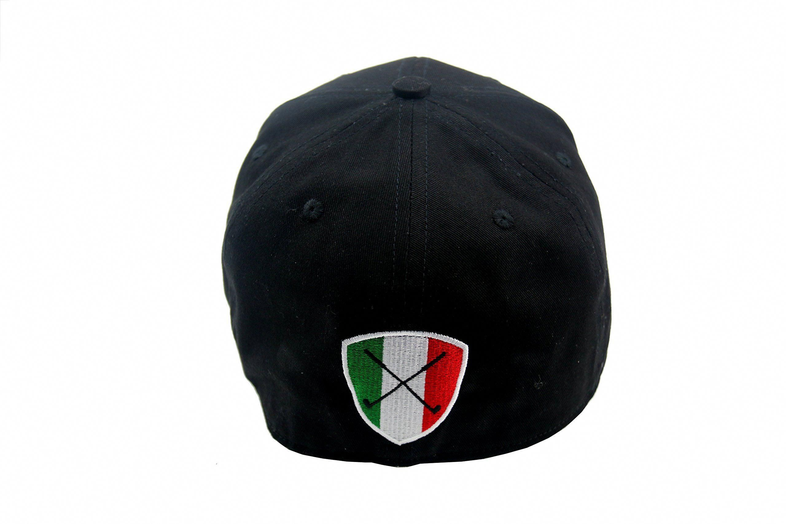 fb1d5cfc9b7 Men Golf Clothing - Tonino Lamborghini Unisex Cotton Golf Cap Black 54 cm.   mensgolfclothes