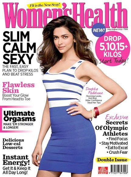 Deepika's chic avatar for Woman's Health