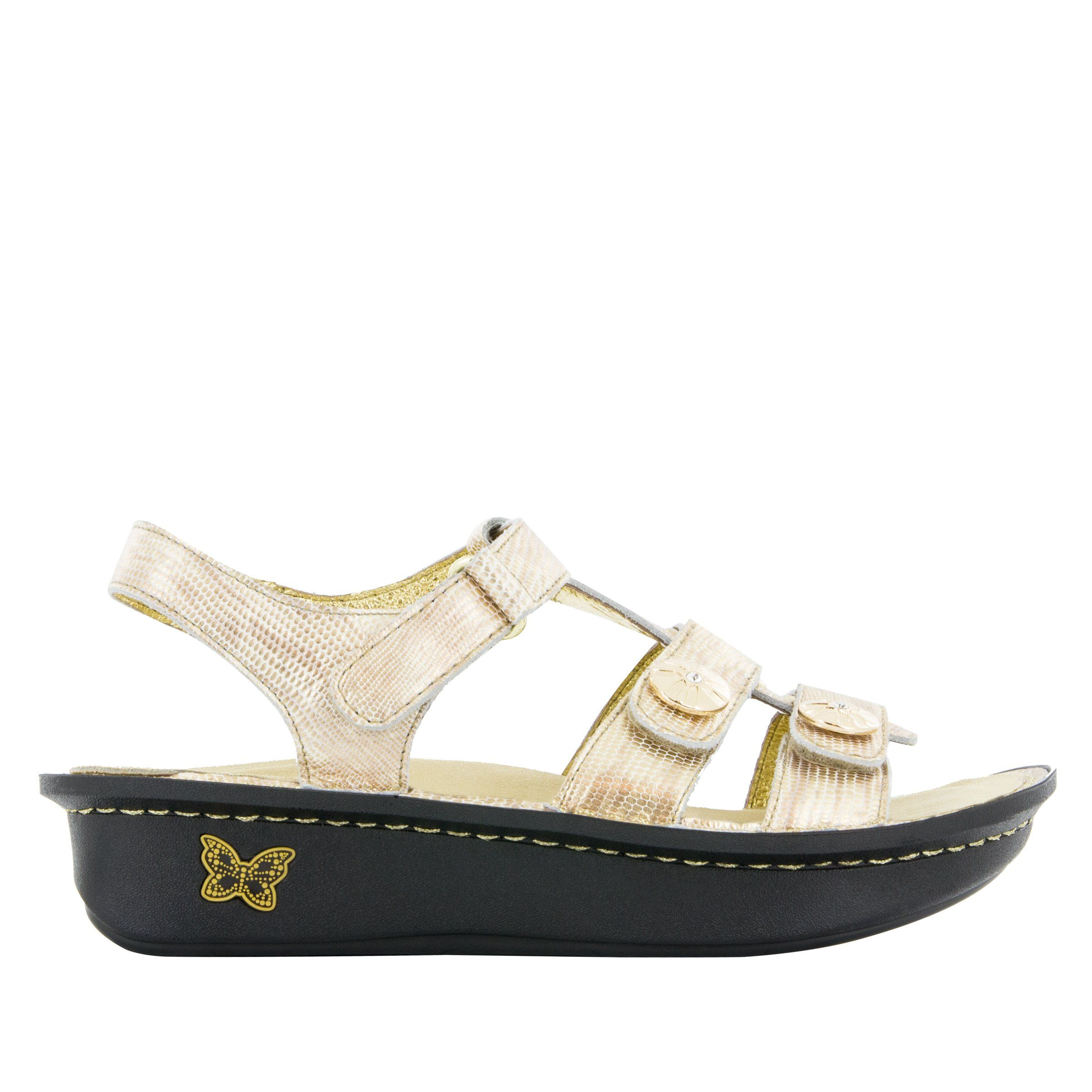 684c4ef0f6a381 Kleo Gold Your Own Way Sandal