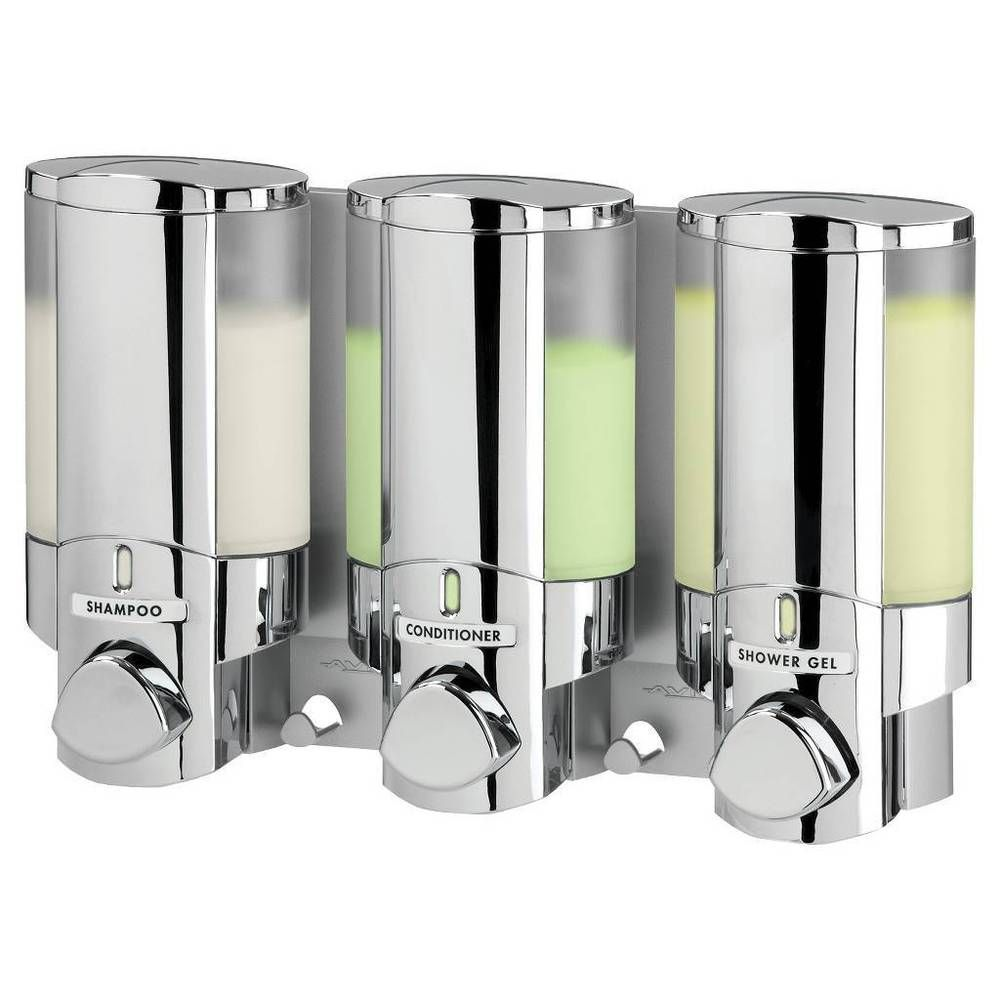 Shampoo Dispenser for Shower 3 Bottle Chrome - Bath Soap & Conditioner For Great Deals, Visit http://www.ebay.com/usr/usa-select-commerce #ebay #ShampooDispenser #BathSoap #Conditioner
