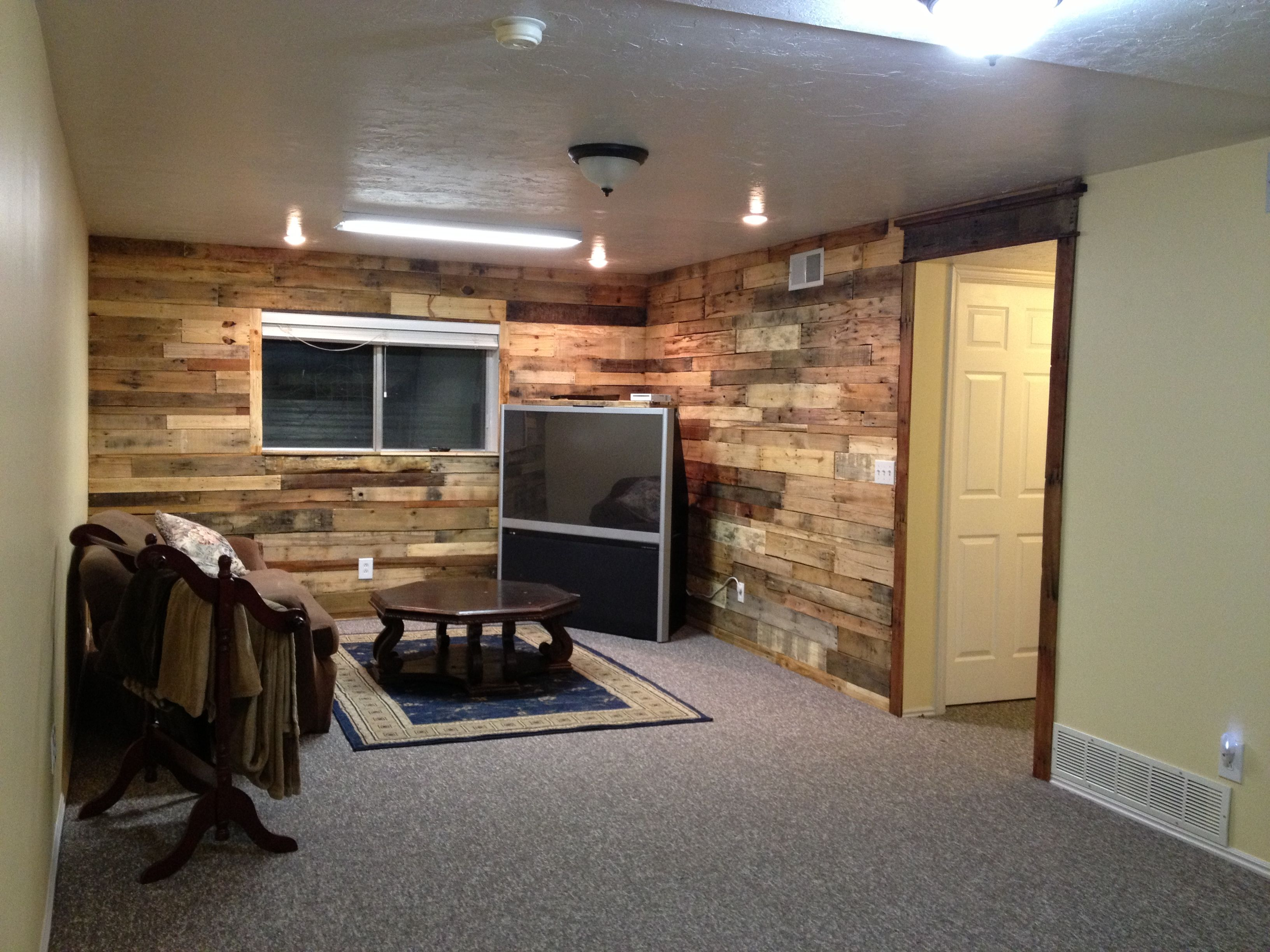 My pallet walls