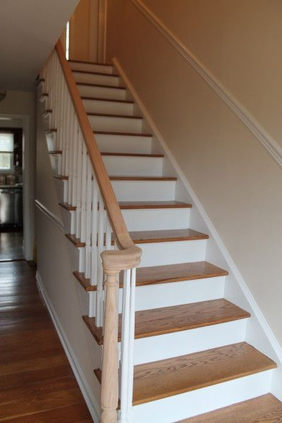 Best Stair Refinishing Stairs Stair Remodel Stair Treads 400 x 300