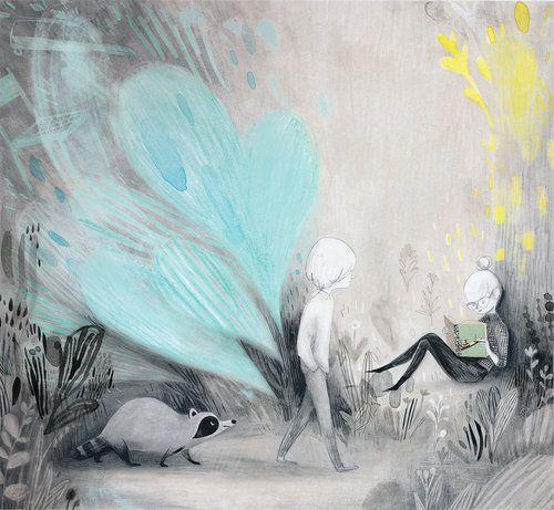 Ilustraciones de Isabelle Arsenault. #iconocero