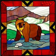 stained glass bears - Google Search