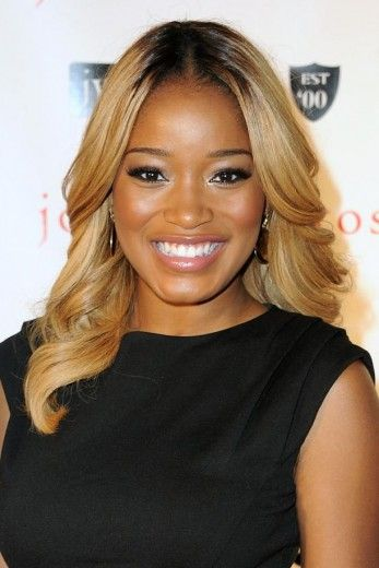 keke palmer honey blonde hair wwwpixsharkcom images