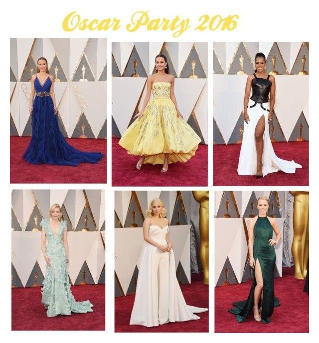 """Oscar Party 2016"" by stardustbykatia on Polyvore"