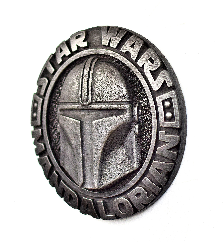 Mandalorian helmet wall art star wars din djarin bounty