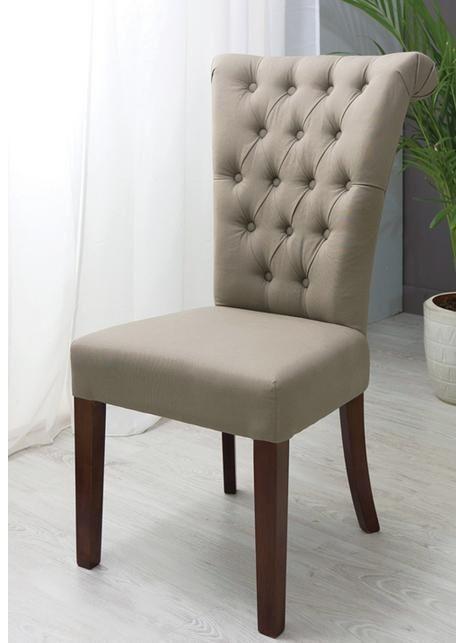 Silla para comedor capitoneada   Dining chairs   Sillas, Sillas de ...