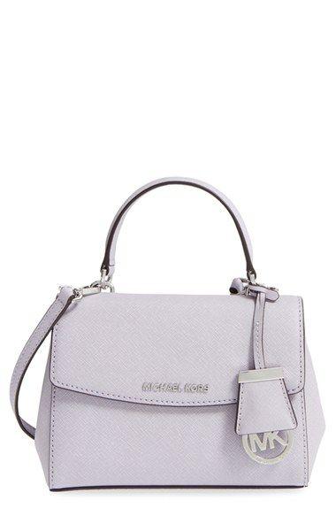 4c559470b9a2 MICHAEL Michael Kors  Extra Small Ava  Leather Crossbody Bag ...