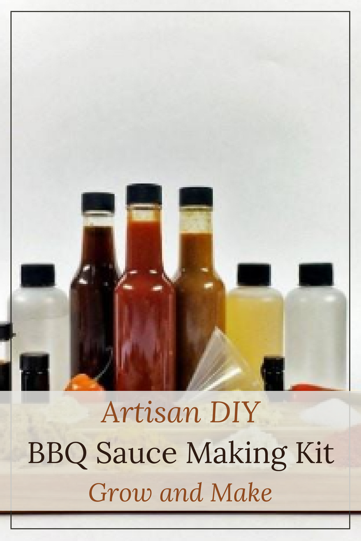 This BBQ sauce making kit is the perfect gift for the