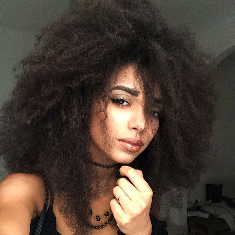 Afro hair. Highly textured hair. Kinky textures. Beautiful as is.
