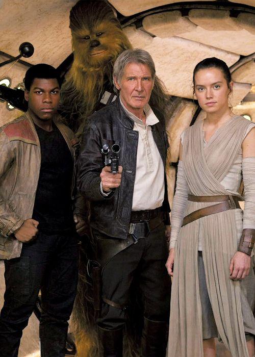 The Force Awakens family