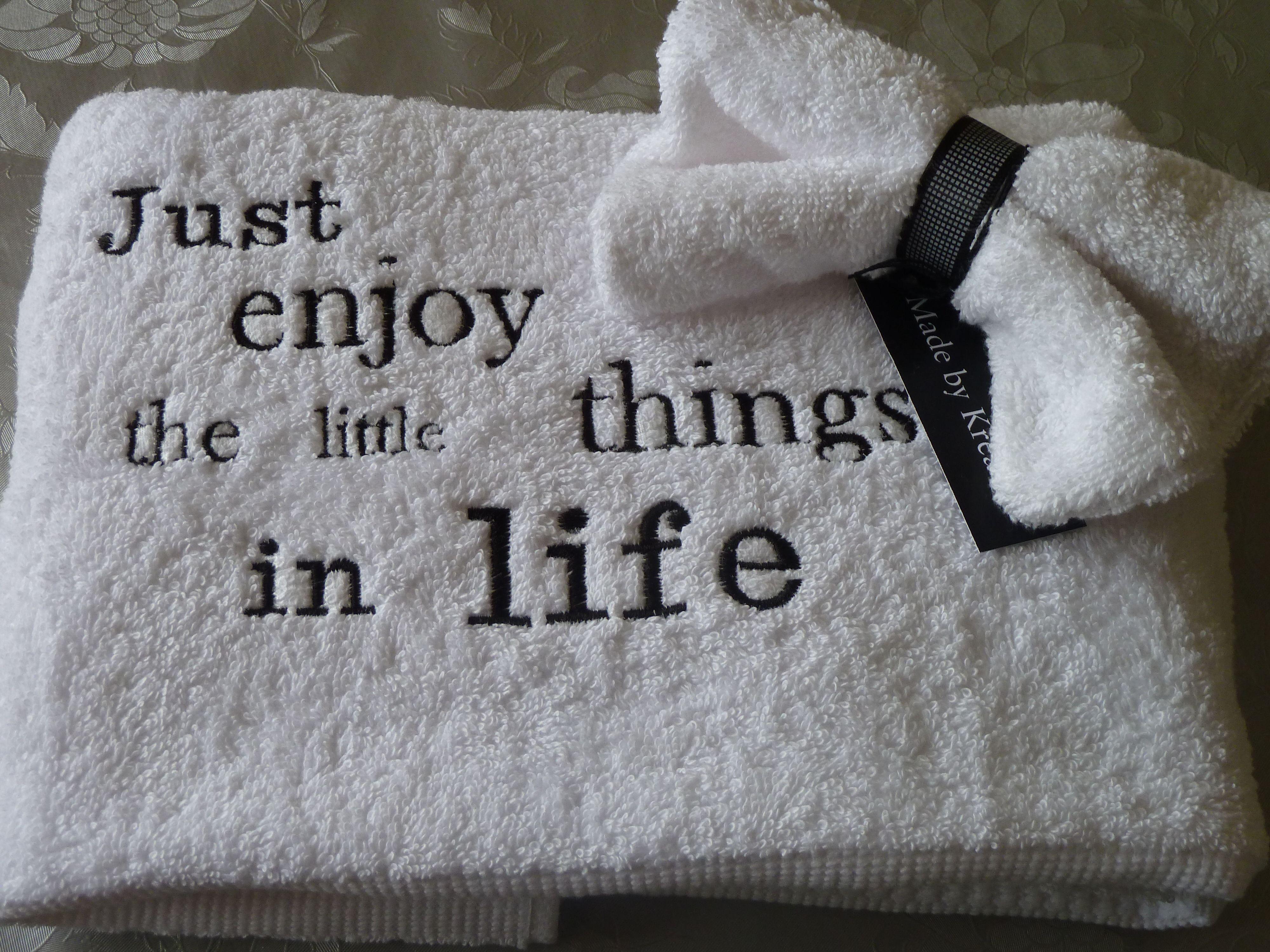 80bb069755f handdoek met tekst | geborduurde kadootjes - Handdoeken en Teksten