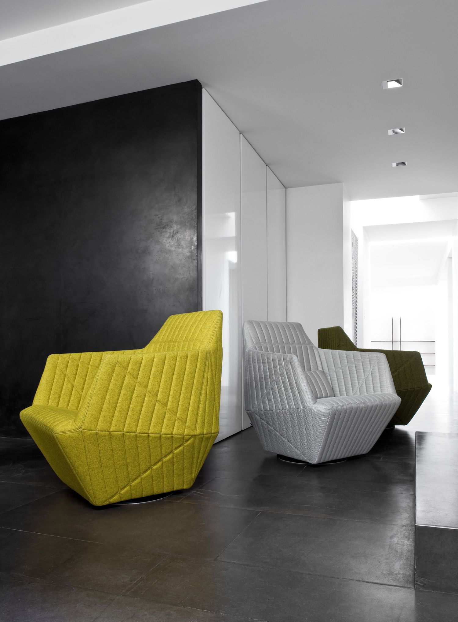 Facett Armchair Designed By R. U0026 E. Bouroullec For #LigneRoset | Available  At Linea Inc. Modern Furniture Los Angeles.
