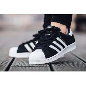 Zapatillas adidas Superstar Black, Dama! Envio Gratis ...