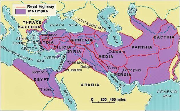Iran Politics Club Iran Historical Maps Achaemenid Persian - Persian empire map