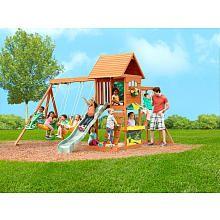 "Sandy Cove Wood Gym Set - Big Backyard - Toys ""R"" Us ..."