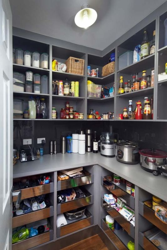 15 Kitchen Pantry Ideas With Form And Function: For The Home - Pantry