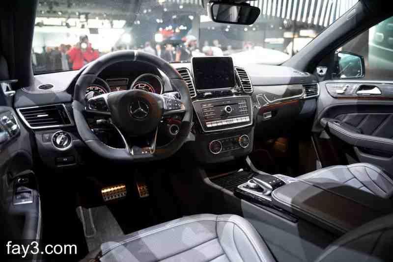 مرسيدس Gle63 Amg 2016 من الداخل سيارات صورة ٤ Steering Wheel Wheel Vehicles