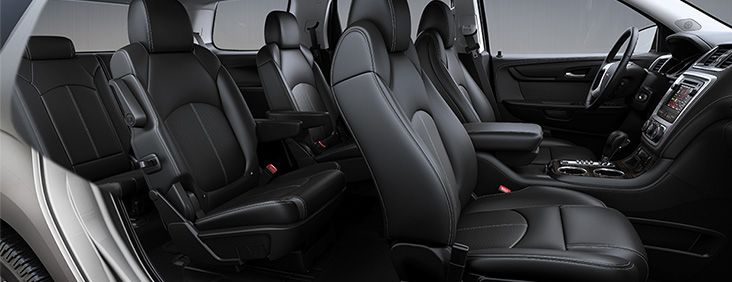 With Seating For Seven Or Eight And Provides Easy Third Row Access Through The Smartslide System Between Second Bucket Seats