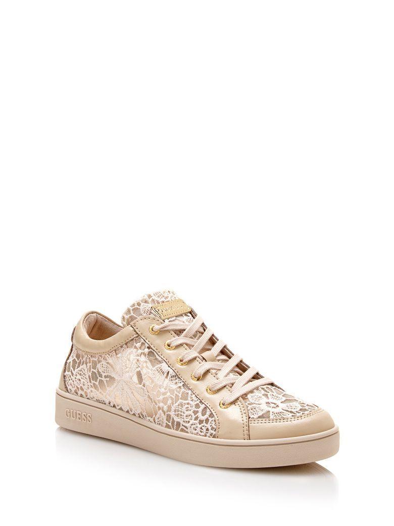 Glinna - Chaussures De Sport Pour Les Femmes / Guess Beige NR7c0nN