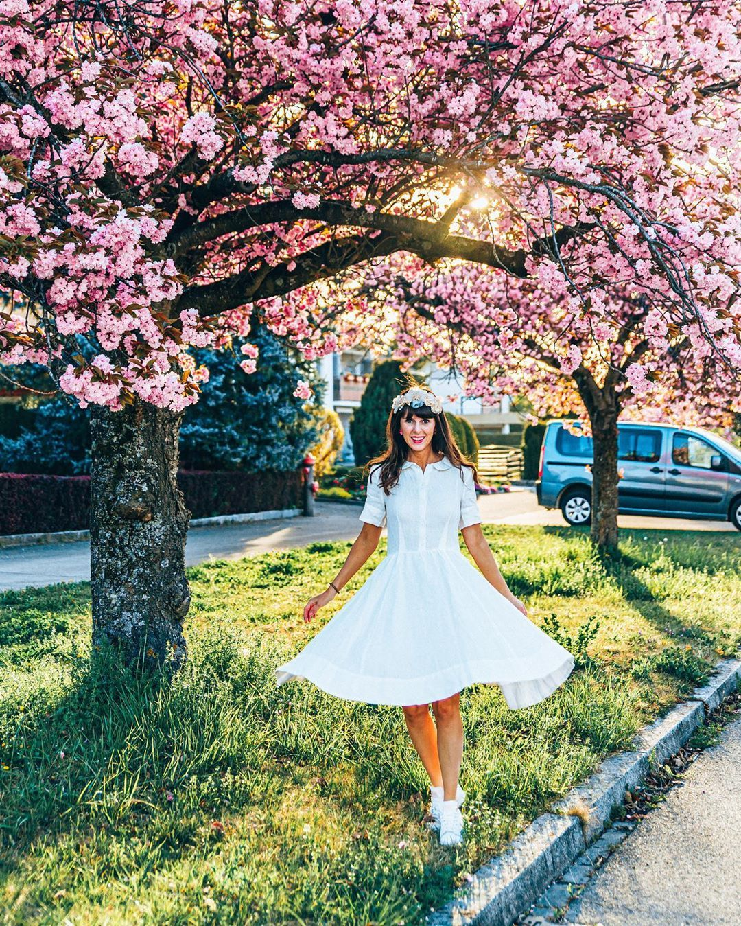 Talia Chicago Travel On Instagram In Love With Cherry Blossom Wanted To Wish You Guys A Wonderful Weekend And H Chicago Travel Cherry Blossom Wonder