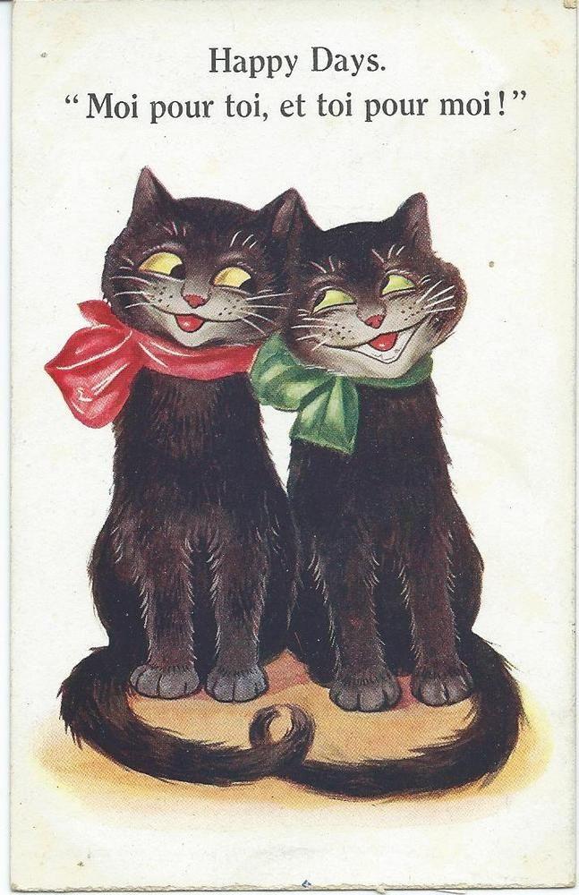 Black Cat sweethearts