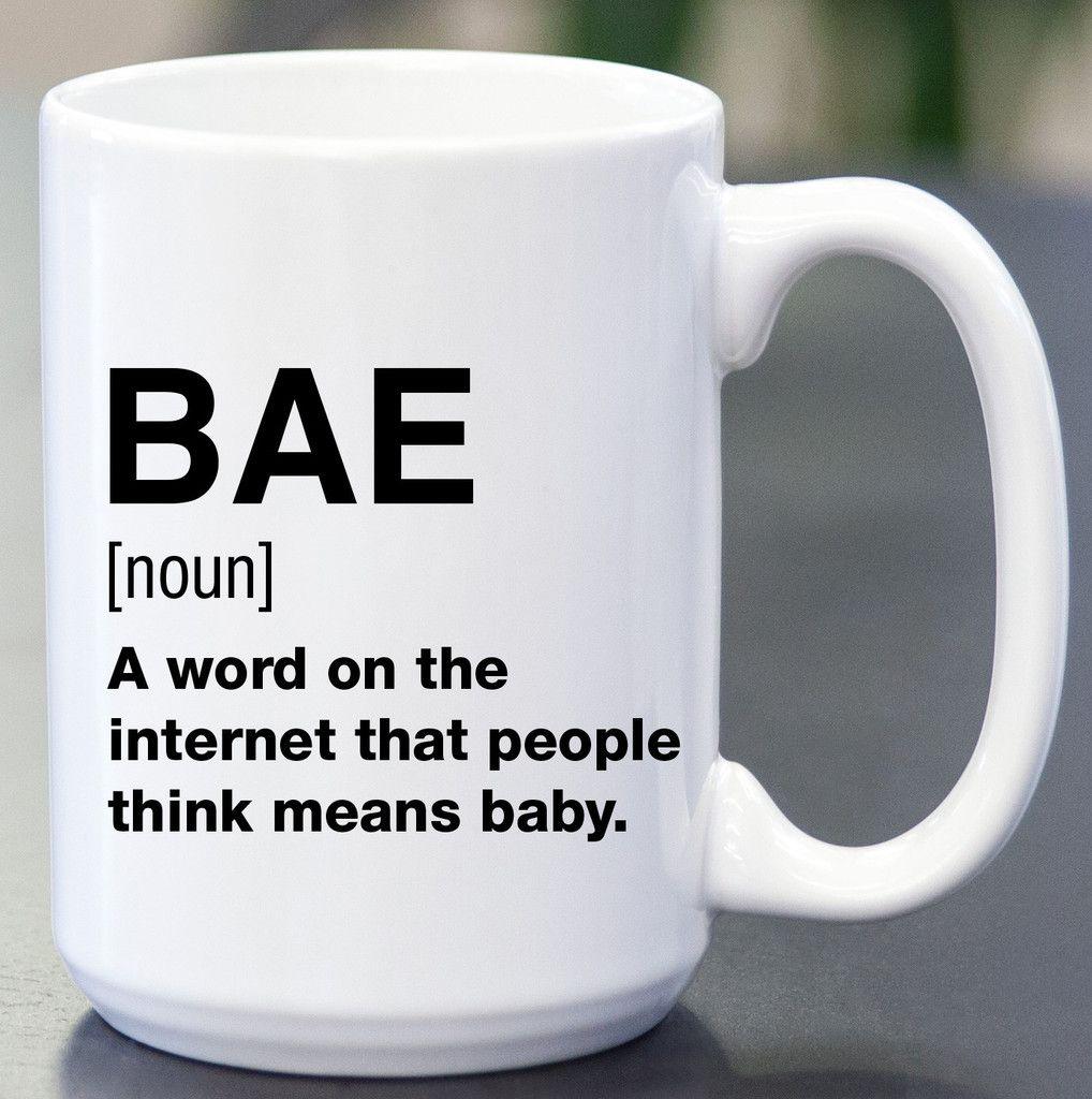 BAE Definition Coffee Mug