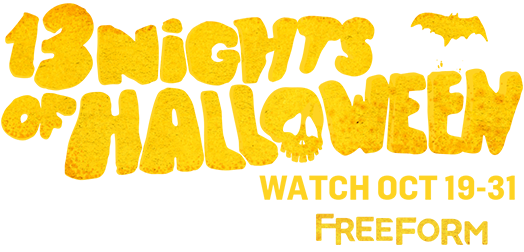 13 Nights Of Halloween and Freeform Logos ideas to do