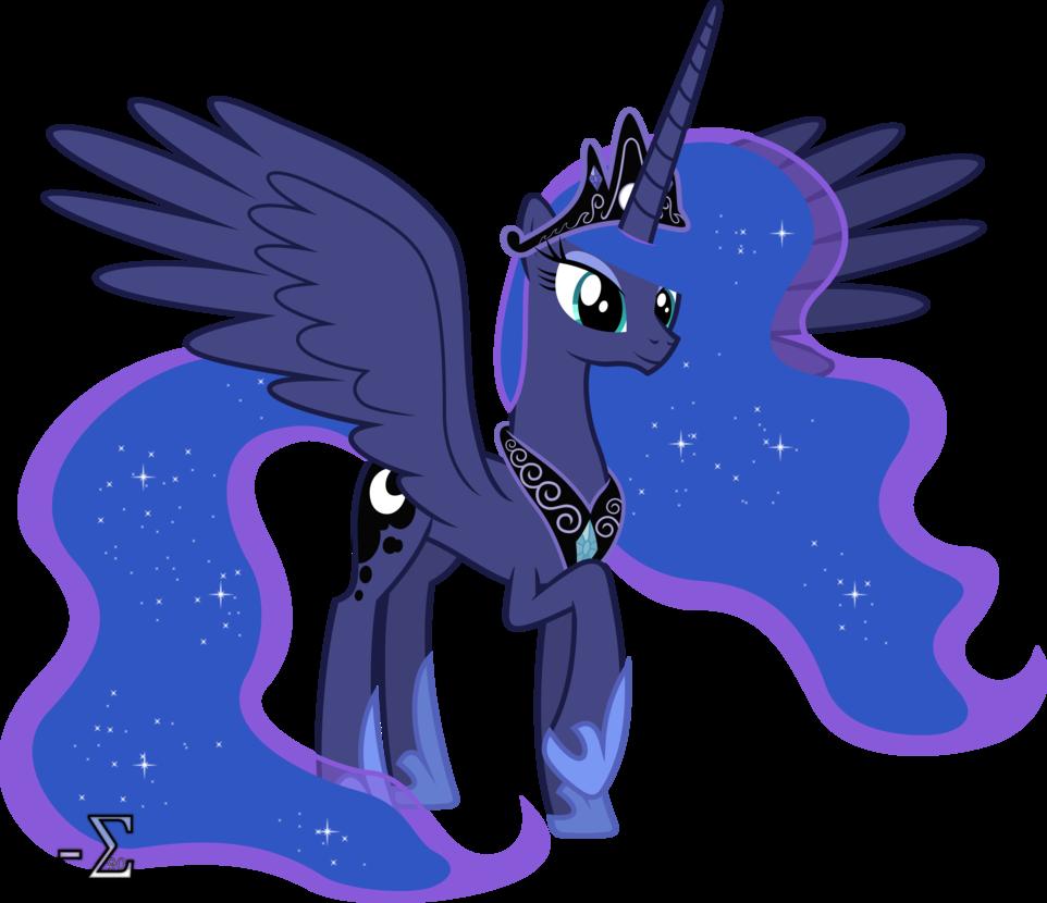 Картинки принцессы луны взрослой