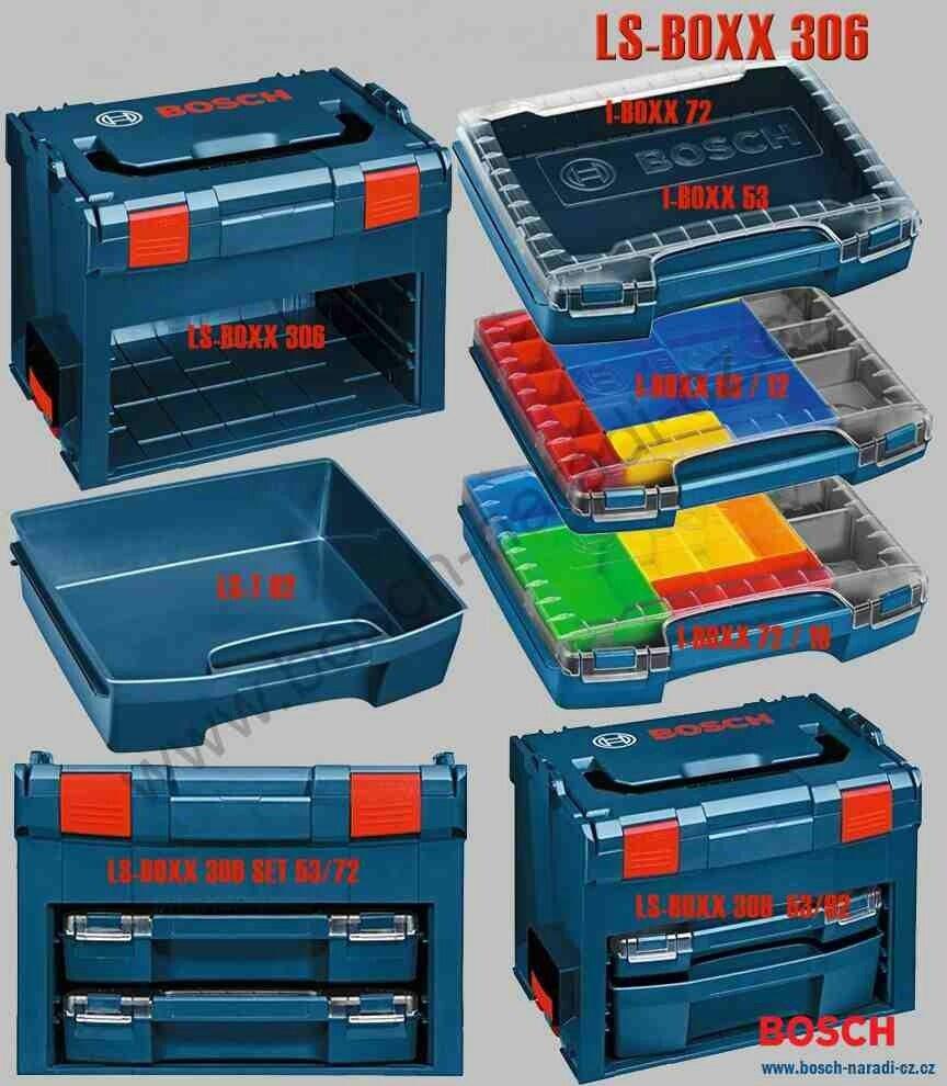 Systemovy Kufr Ls Boxx 306 Bosch Sortimo Bosch Nara Oficina De Marcenaria Ferramentas Oficina