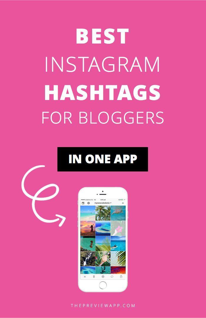 Instagram Hashtag Generator App (FREE) +3,000 of the Best